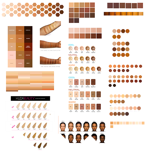 After I published my recent article on Inclusive Illustration Research: How Emojis Handle Skin Tones, a few friends suggested I look into how makeup brands approach skin tones. The reader implied that I was giving too much weight to a skin tone system created by the Unicode Consortium, a generally