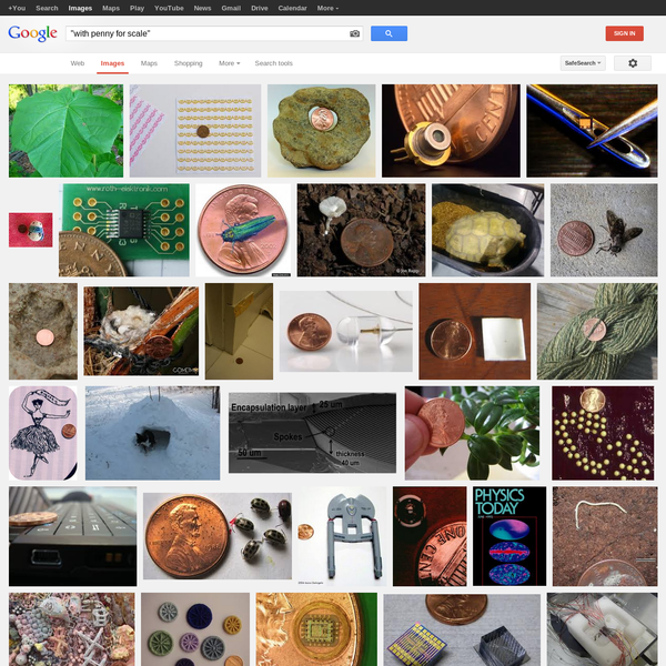 """""""with penny for scale"""" - Google Search"""