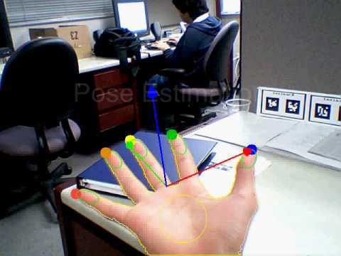 HandyAR (Markerless Augmented Reality from UCSB)