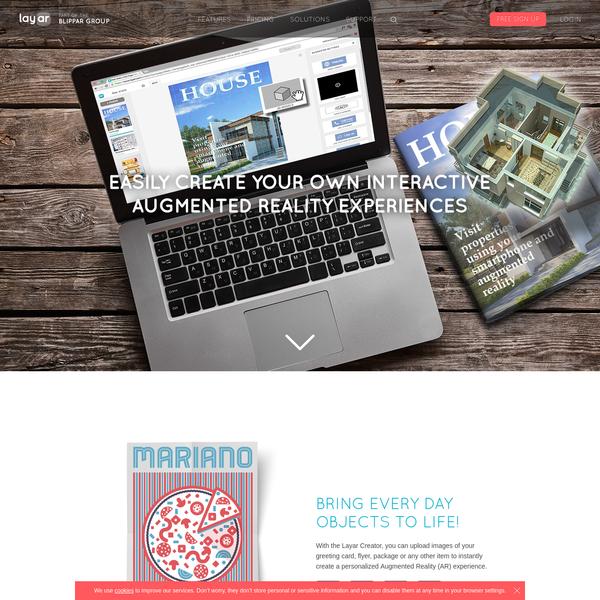 Augmented Reality | Interactive Print | Layar