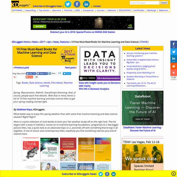 Big Data | Data Science | Sources