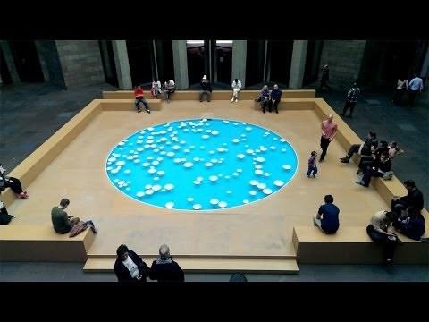 CLINAMEN 2013 by Céleste Boursier-Mougenot at National Gallery of Victoria - Melbourne, Australia