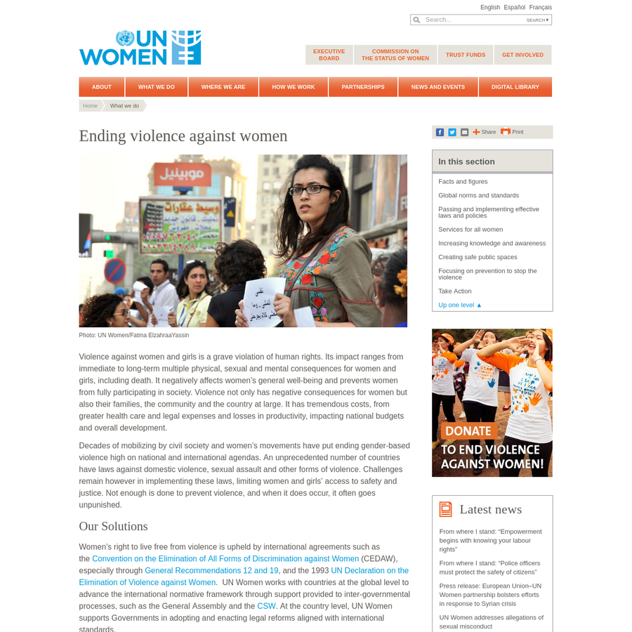 cedaw and its global implications for women in countries that have ratified it Reservations to cedaw: cedaw has been ratified by 186 states, with many reservations a considerable number of against women (cedaw.