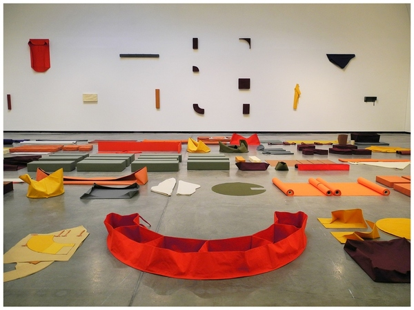 Franz Erhard Walther at Wiels
