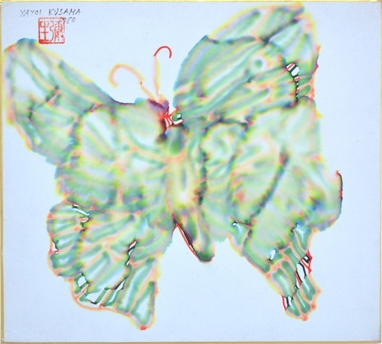 Yayoi Kusama - Papillon, 1980