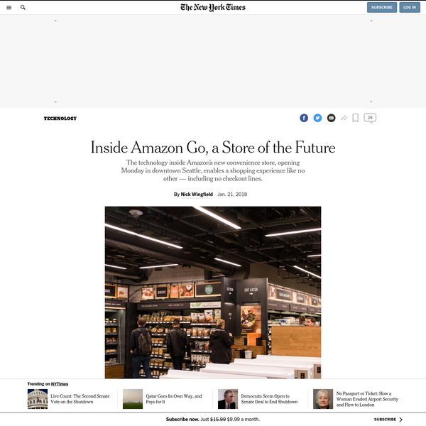 SEATTLE - The first clue that there's something unusual about Amazon's store of the future hits you right at the front door. It feels as if you are entering a subway station. A row of gates guard the entrance to the store, known as Amazon Go, allowing in only people with the store's smartphone app.