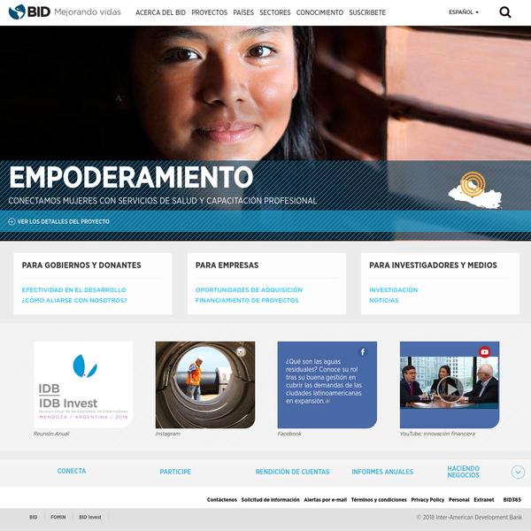 Inter American Development Bank   IADB