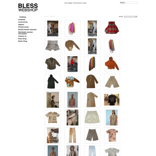 Clothing - BLESS WEBSHOP