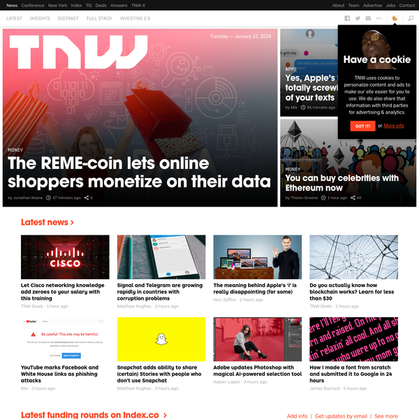 TNW - International technology news, business and culture