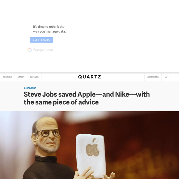 Steve Jobs saved Apple-and Nike-with the same piece of advice