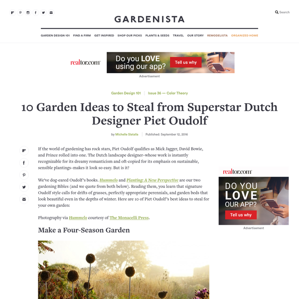 If the world of gardening has rock stars, Piet Oudolf qualifies as Mick Jagger, David Bowie, and Prince rolled into one. The Dutch landscape designer-whose work is instantly recognizable for its dreamy romanticism and oft-copied for its emphasis on sustainable, sensible plantings-makes it look so easy. But is it?