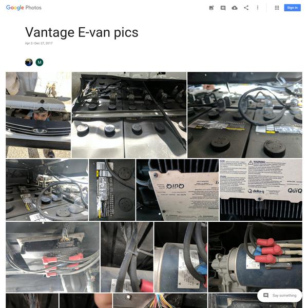 Vantage E-van pics