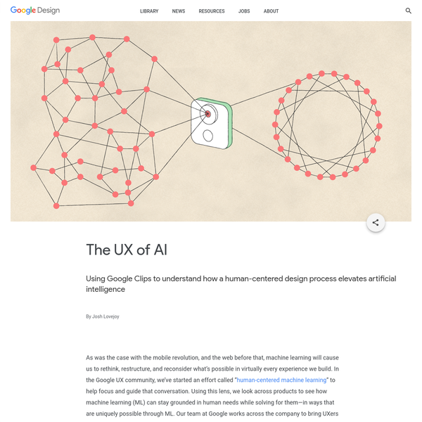 The UX of AI
