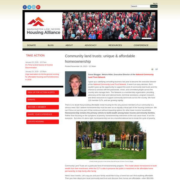 Community land trusts: unique & affordable homeownership