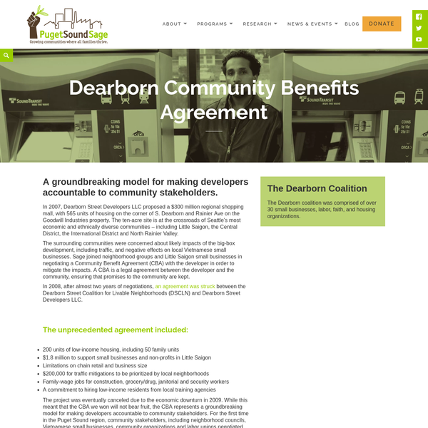 Are Community Benefits Agreements