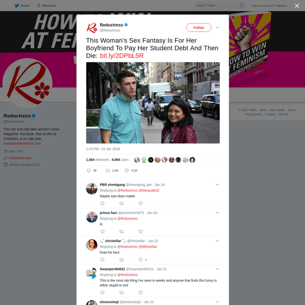 Reductress on Twitter