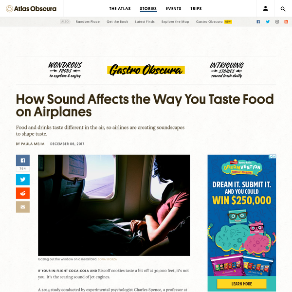 How Sound Affects the Way You Taste Food on Airplanes