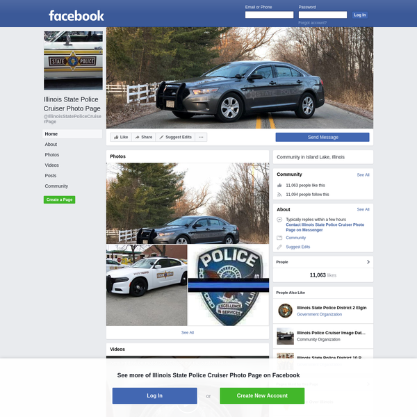 Illinois State Police Cruiser Photo Page