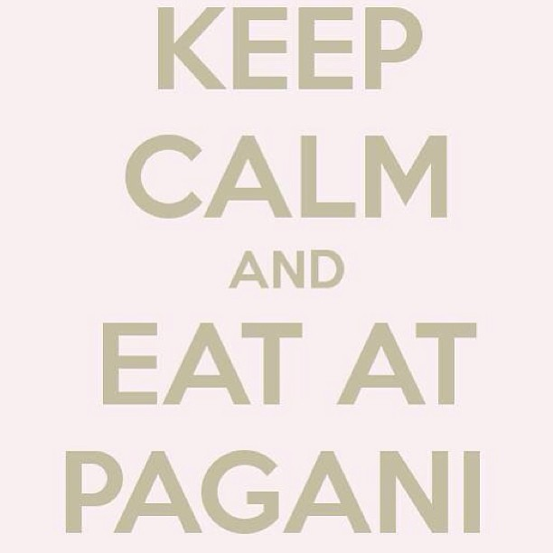 Some words of #wisdom from your friends at Pagani... #nyc #westvillage #italian #nofilter #restaurant #italian