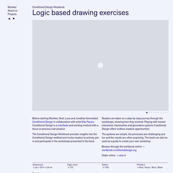 Logic based drawing exercises