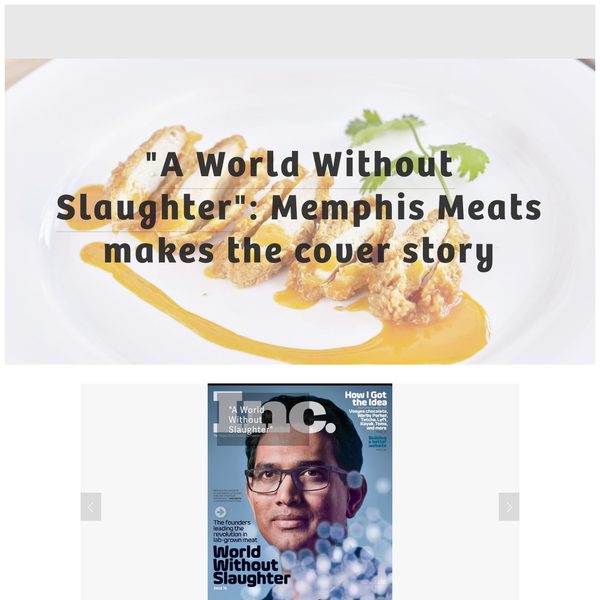 We're developing clean meat-without the animals-so that the world can enjoy the same delicious meat we always have, in a way that's better for the environment, the body and the animals.