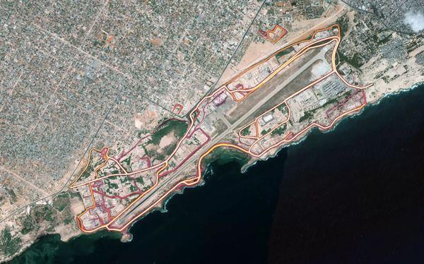 Mogadishu heatmap