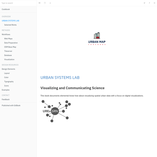 URBAN SYSTEMS LAB · Cookbook