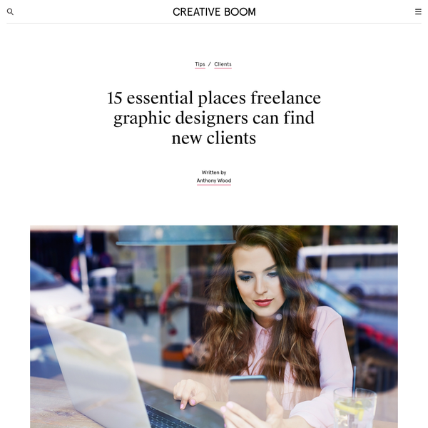 15 essential places freelance graphic designers can find new clients