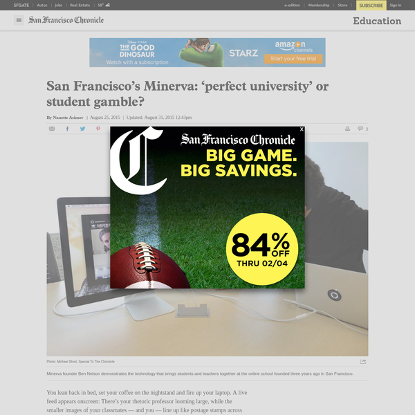 San Francisco's Minerva: 'perfect university' or student gamble?