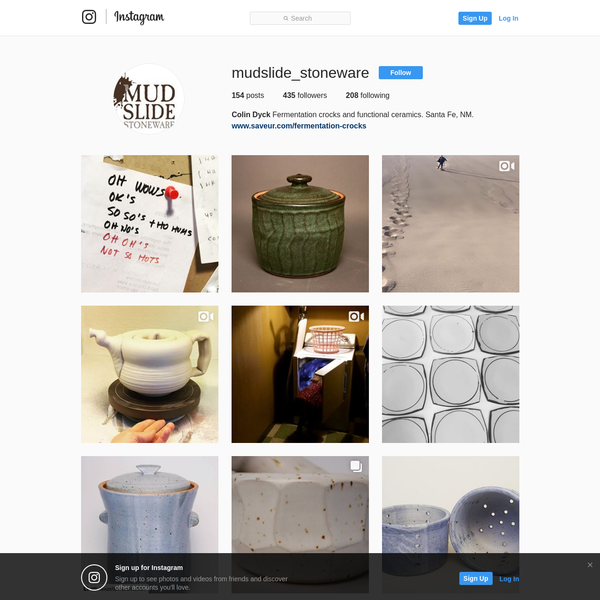 435 Followers, 208 Following, 154 Posts - See Instagram photos and videos from Colin Dyck (@mudslide_stoneware)