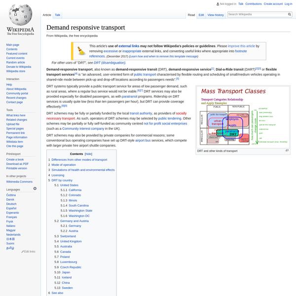 Demand responsive transport - Wikipedia