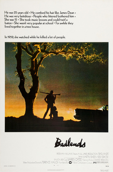 *Badlands* by Terrence Malick (1973)— Recommended by [Qiong Li](https://thecreativeindependent.com/people/qiong-li-on-being-a-human-camera/)