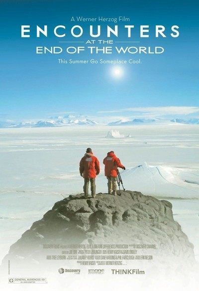 *Encounters at the End of the World* by Werner Herzog (2008) — Recommended by [Chelsea Wolfe](https://thecreativeindependent.com/people/chelsea-wolfe-on-not-being-afraid-to-take-risks/)