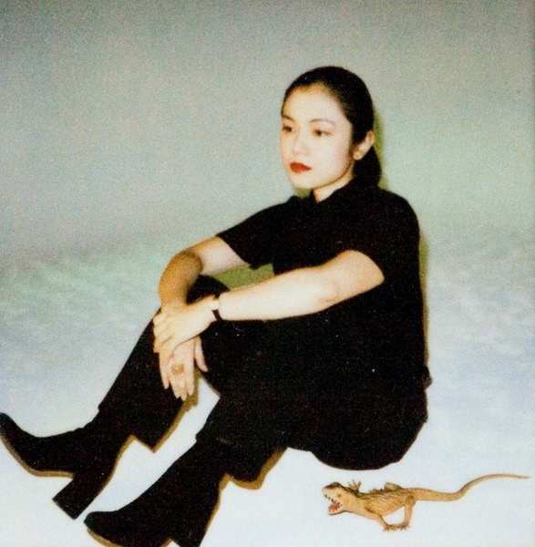 Nobuyoshi Araki - Untitled (Sitting Girl with Lizard)