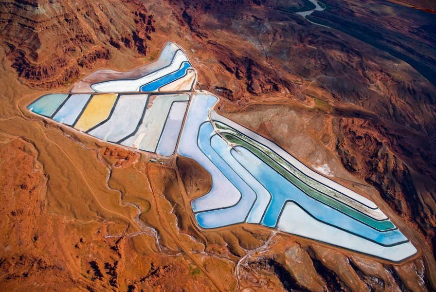 Intrepid Potash Mine, Utah - Alexander Heilner