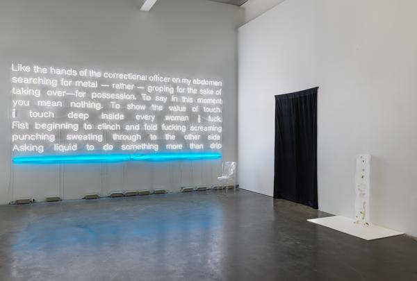 Sable Elyse Smith, Landscape III, 2017