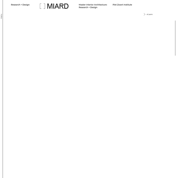 MIARD / Research + Design