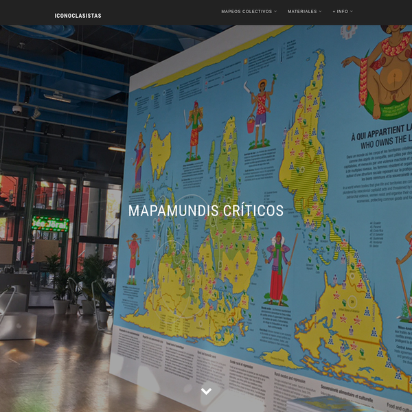 Mapamundis críticos - Iconoclasistas