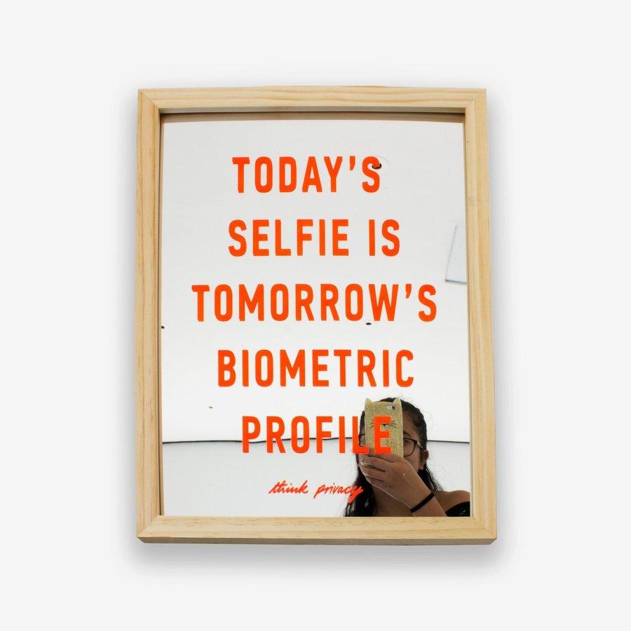 Think Privacy Selfie Mirror