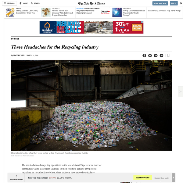 They're such a problem at Recology, an advanced recycling operation in San Francisco, that it used to shut down twice a day so that workers with box knives could cut the plastic bags out of the spinning discs that help separate paper from cans and bottles.
