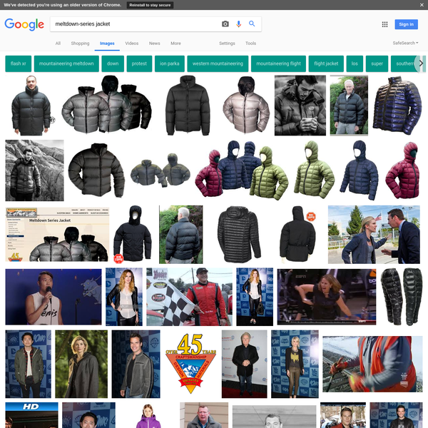 meltdown-series jacket - Google Search