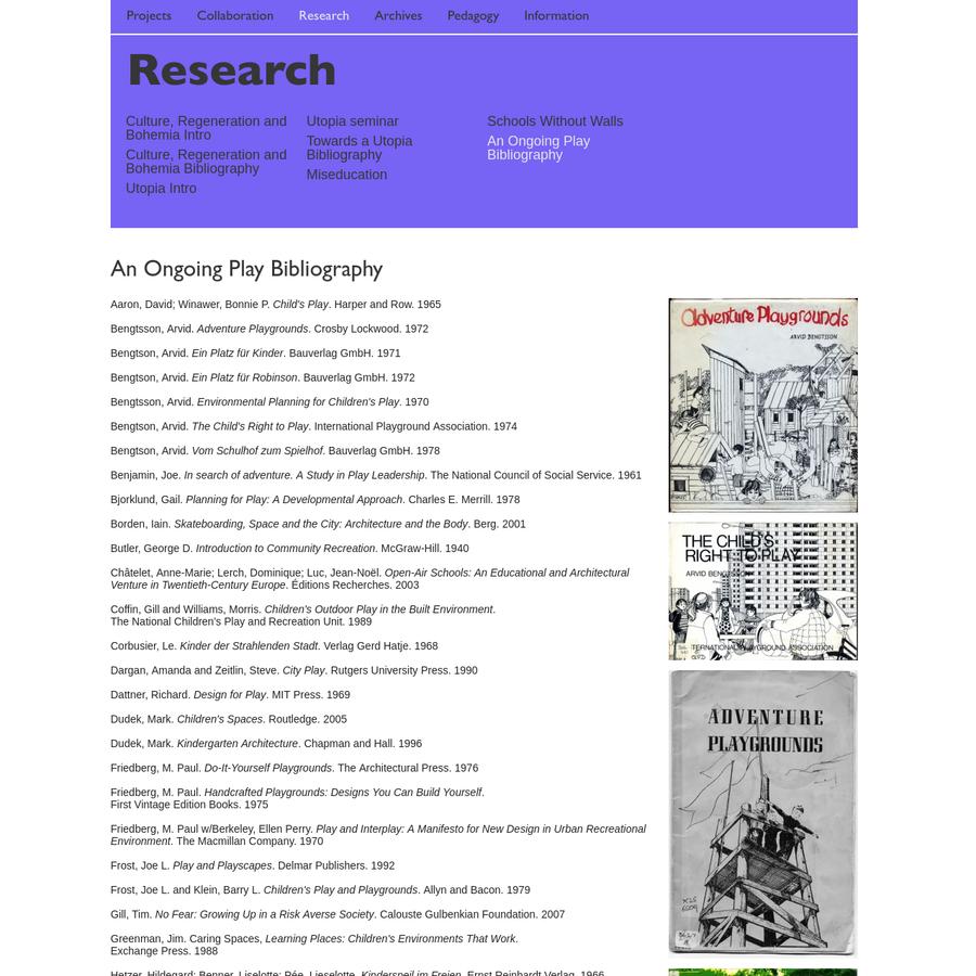 Culture, Regeneration and Bohemia Bibliography
