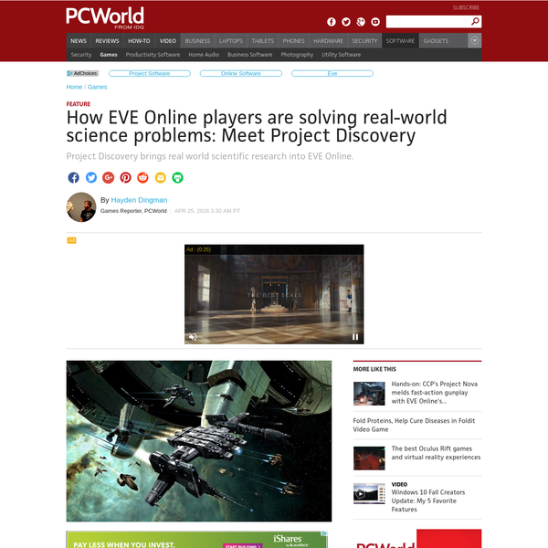 "Reykjavík, Iceland- ""This is probably the first time high-profile scientific journals are publishing screenshots from EVE Online,"" says Attila Szantner, co-founder of Massively Multiplayer Online Science (MMOS). ""This is going to be the next big revolution in citizen science."""
