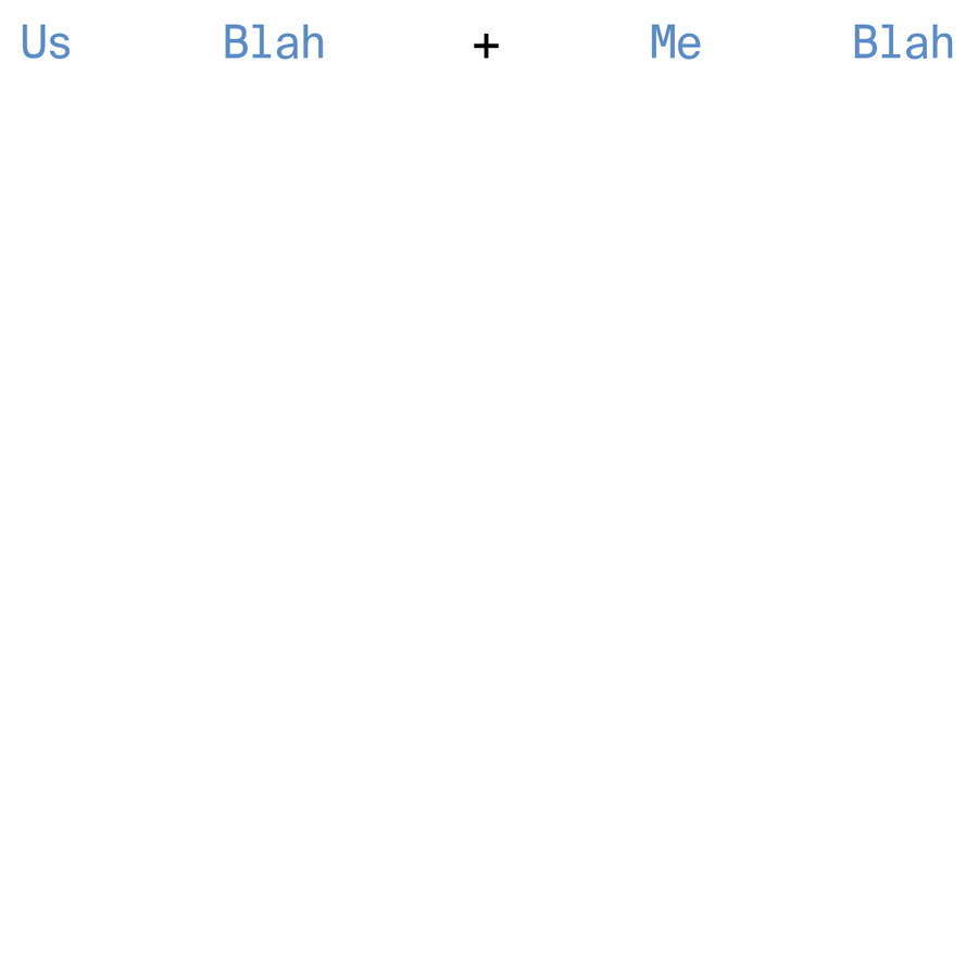 Us Blah + Me Blah is a bilingual platform which shares stories of inspirational individuals whose unique activities are their strongest passions.