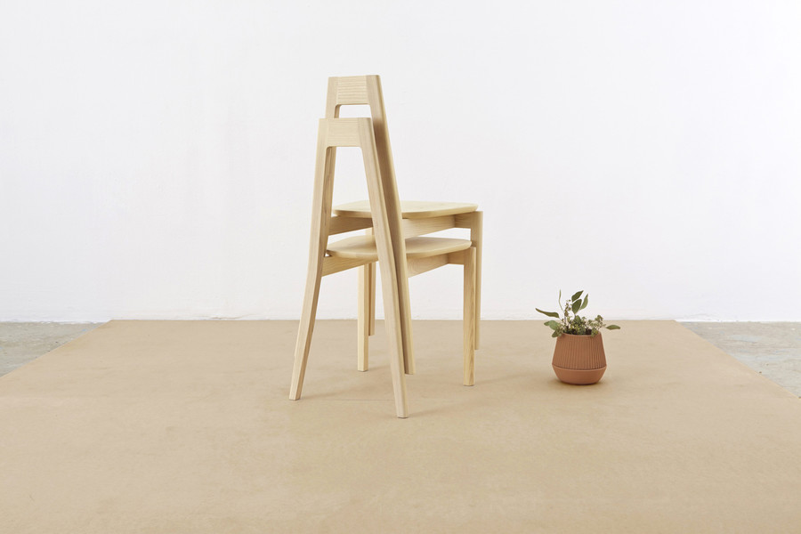 A-frame chair by MSDS studio