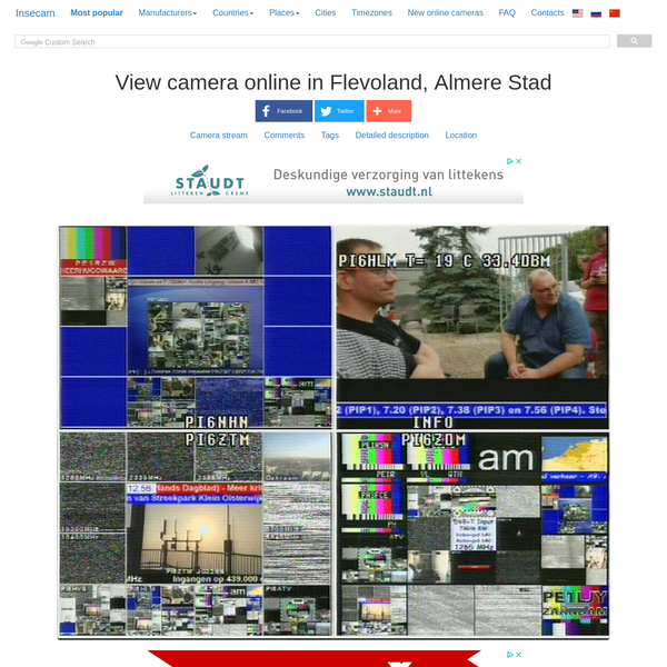 View Axis camera in Netherlands, Almere Stad