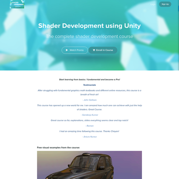 The complete shader development course