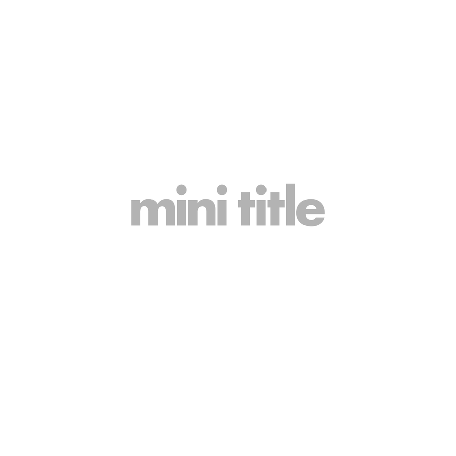 Mini Title is a photographic agency representing artists working in the fashion, editorial and advertising sectors. Representing Andrea Artemisio, Blommers & Schumm, Jack Davison, Roger Deckker, Carl Kleiner, Eric Nehr, Philip Sinden, Chadwick Tyler, Tanya Ling, Rachel Thomas, Suffo Moncloa, Charlotte Wales & Qiu Yang.