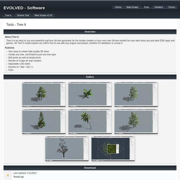 Tree It | Tree Generator