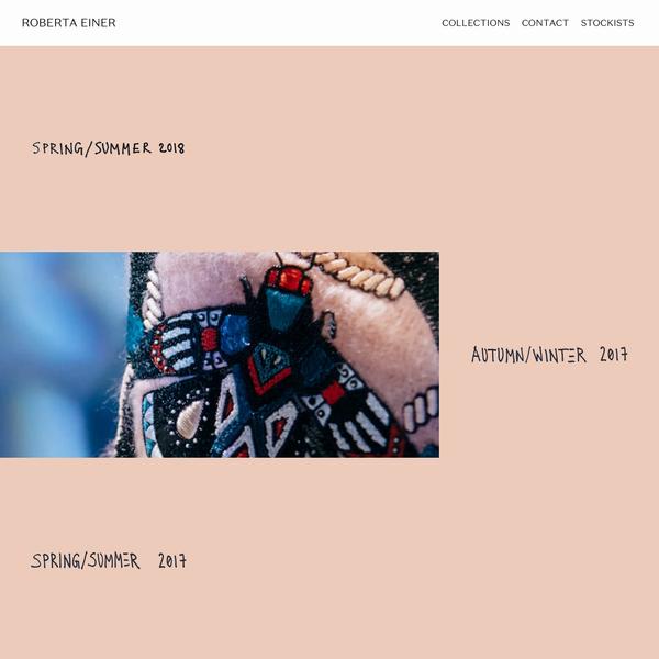 Roberta Einer - Womenswear - London
